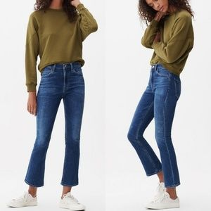 Citizens of Humanity Demy High Waist Crop Flare